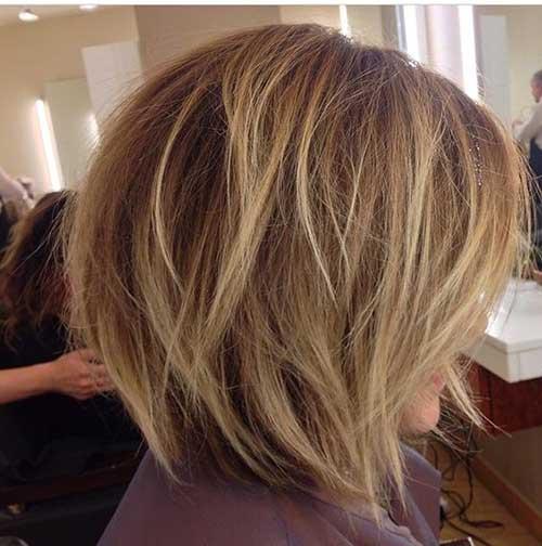 Highlights in Short Hair