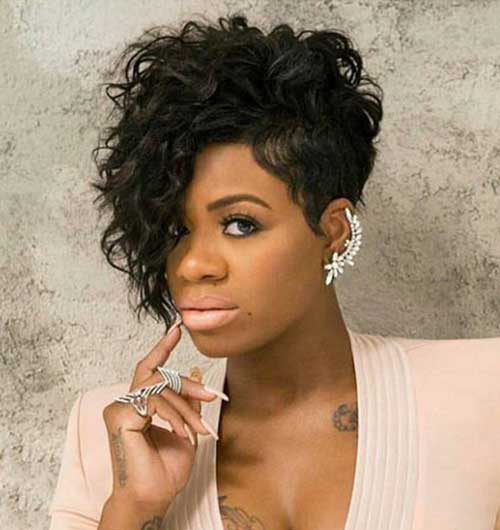 20 Short Curly Hairstyles For Black Women