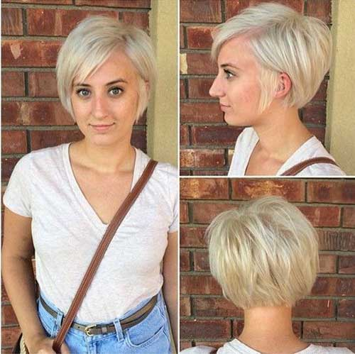 Short Haircuts for Fine Thin Straight Hair