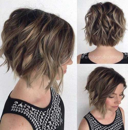 15 Short Haircuts For Thick Wavy Hair Short Hairstyles 2018 2019