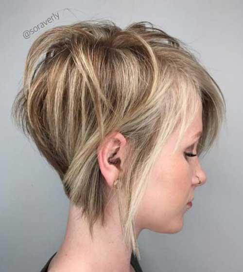 Short Hairstyles For Straight Fine Hair Short Hairstyles 2018