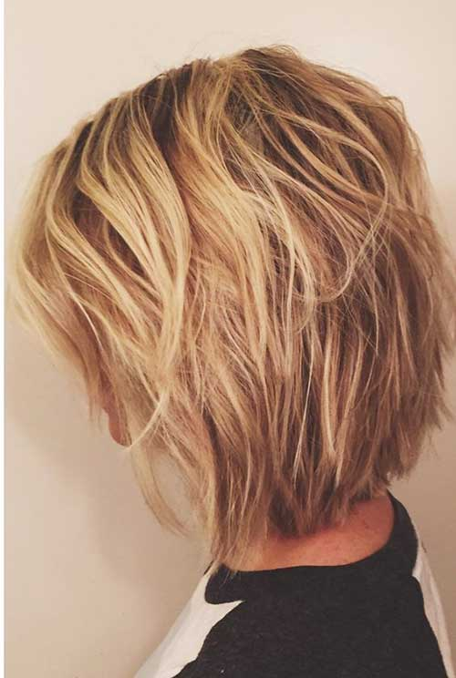 Short Layered Bob Short Hairstyles 2016 2017