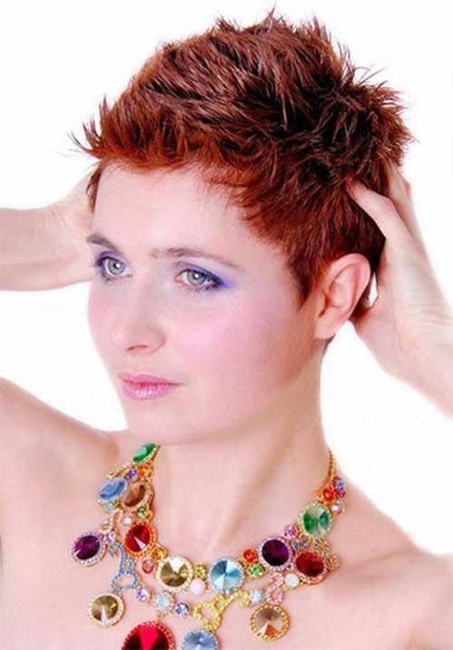 15 Short Spiky Haircuts