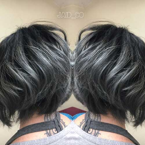 These Days Most Popular Short Grey Hair Ideas Short
