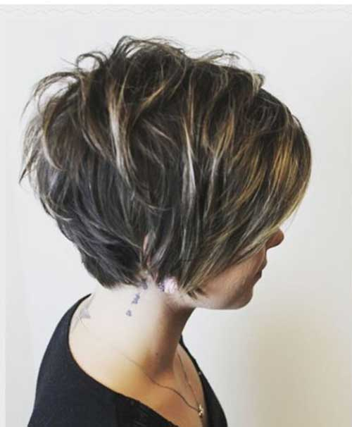 Short Layered Haircuts-11