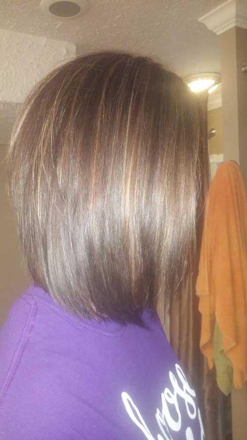Brunette Bob Hairstyles-13