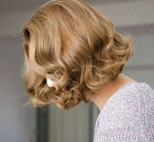 Cute Hairstyle for Short Hair-13