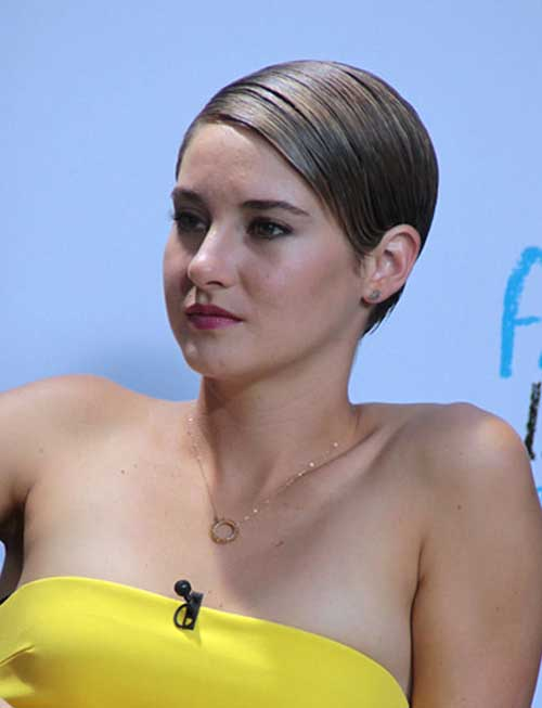 Shailene Woodley Most Gorgeous Short Hairstyles