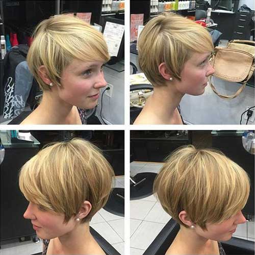 Short Hairstyles for Thick Straight Hair-13