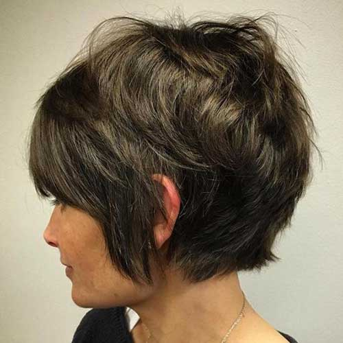 Short Layered Haircuts-14