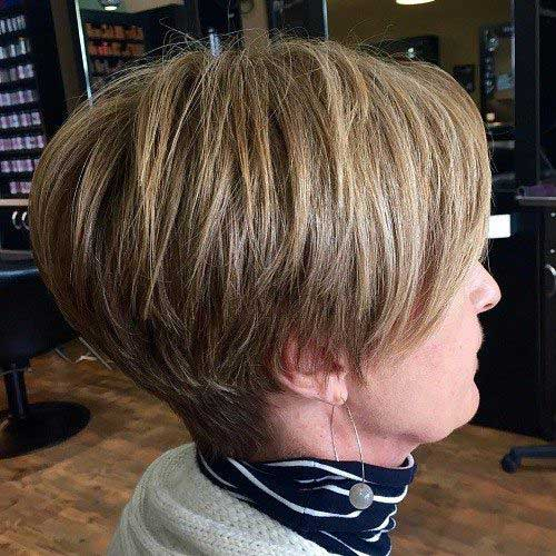 Short Hair Styles for Older Women-15
