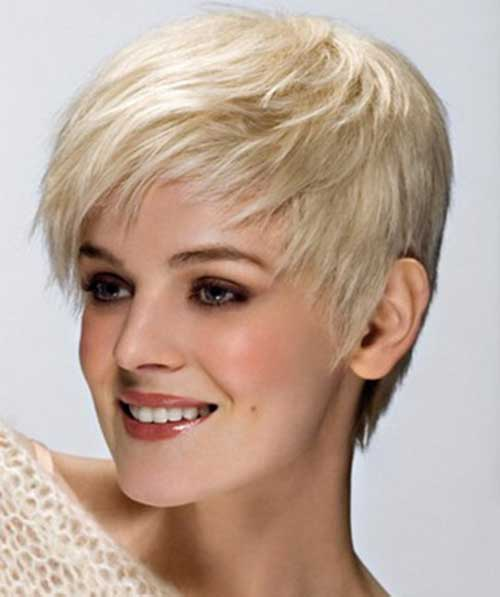 Cute Hairstyle for Short Hair-17