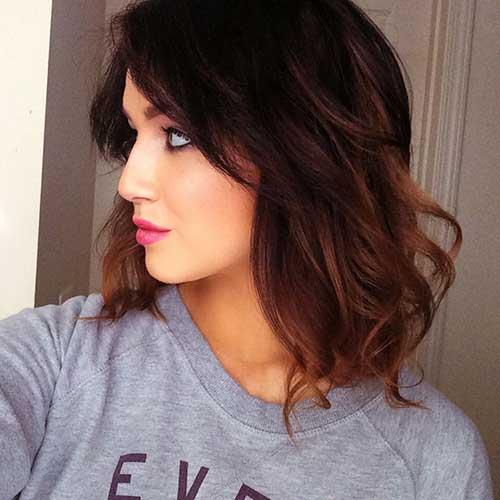 Brunette Bob Hairstyles-18