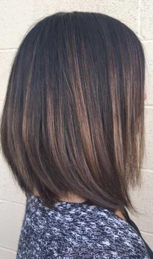 Brunette Bob Hairstyles-19