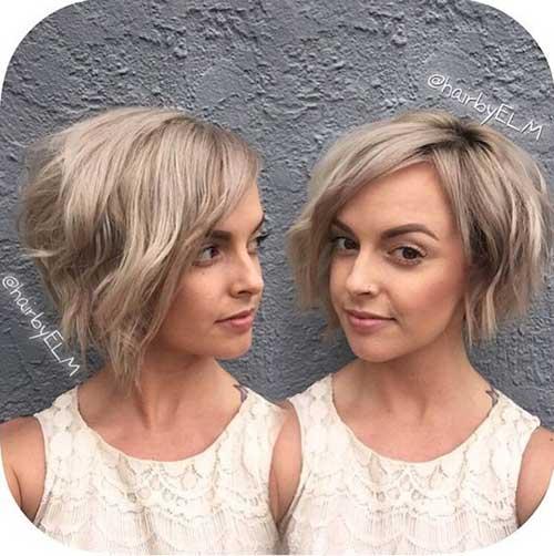 Short Wavy Hairstyles-19