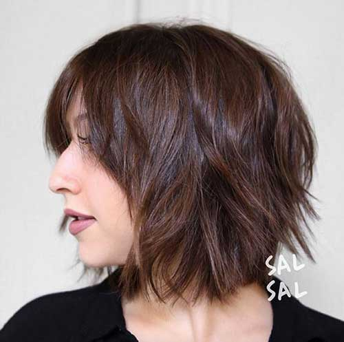 Brunette Bob Hairstyles-20
