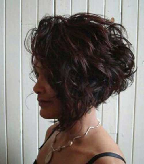 2014 Cool Short Curly Hairstyles