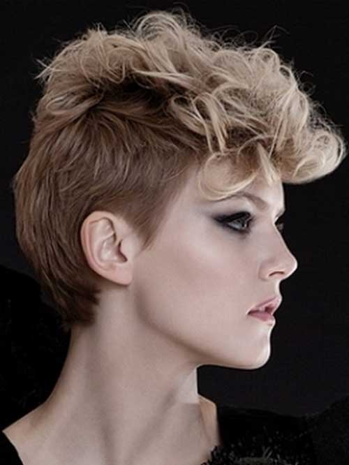 Cute Hairstyle for Short Hair-6