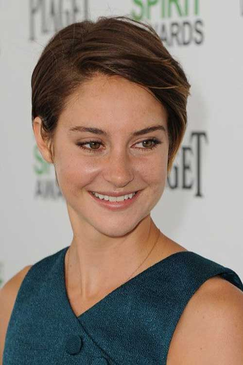 15 Of Shailene Woodley S Most Gorgeous Short Hairstyles Crazyforus