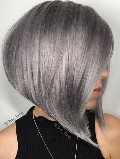 These Days Most Popular Short Grey Hair Ideas