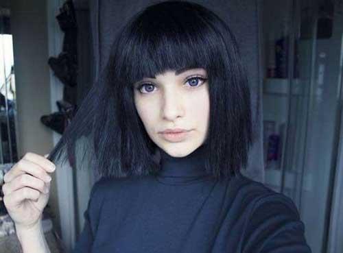 Brunette Bob Hairstyles-8