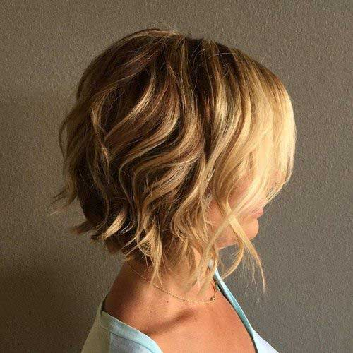 Hairstyles for Short Curly Hair-8