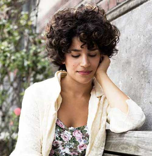 Short Curly Hairstyles-8