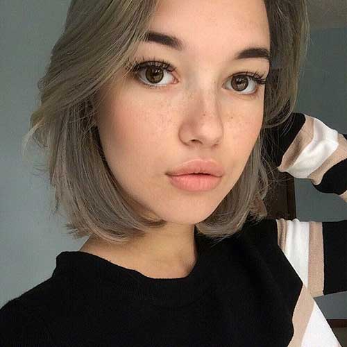 Cool Ash Blonde Bob Hairstyles