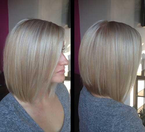 Ash Blonde Fine Hair Bob