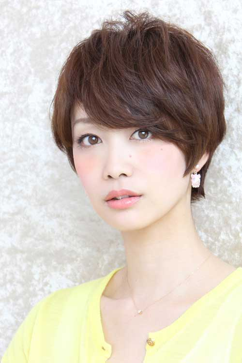 Asian Medium Pixie Hairstyles