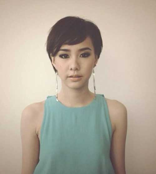 Asian Pixie Hairstyles