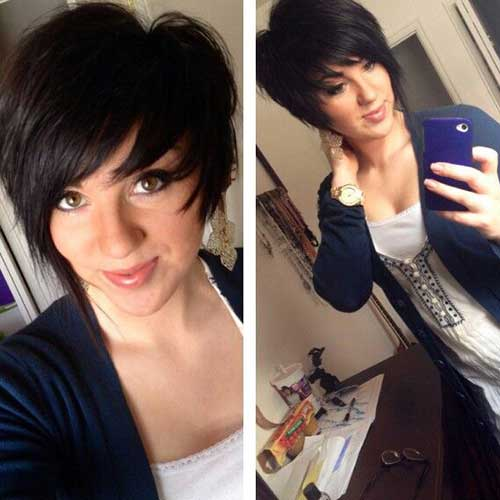 Best Asymmetrical Pixie Cut