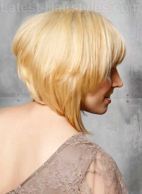 Back View Ideas for Graduated Bob