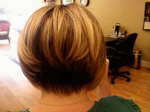 Wondrous 15 Best Back View Of Bob Haircuts Short Hairstyles 2016 2017 Hairstyle Inspiration Daily Dogsangcom