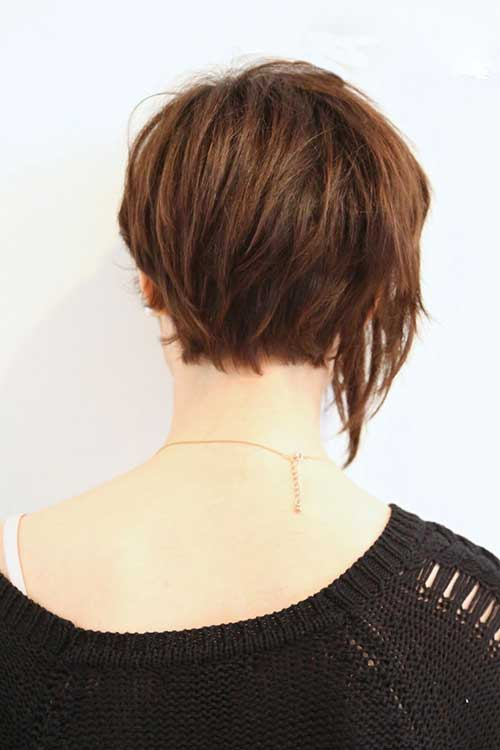15 Best Back View Of Bob Haircuts Short Hairstyles 2017 2018