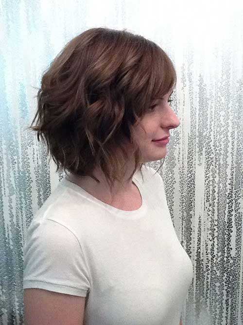 Beachy Bob Haircuts for Wavy Thin Hair Ideas