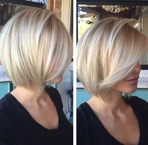 15 blonde bob hairstyles short hairstyles 2017 2018 most popular short hairstyles for 2017. Black Bedroom Furniture Sets. Home Design Ideas