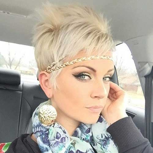 Blonde Pixie Cuts for Girl