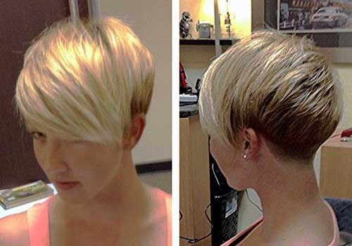 Blonde Short Pixie Cuts
