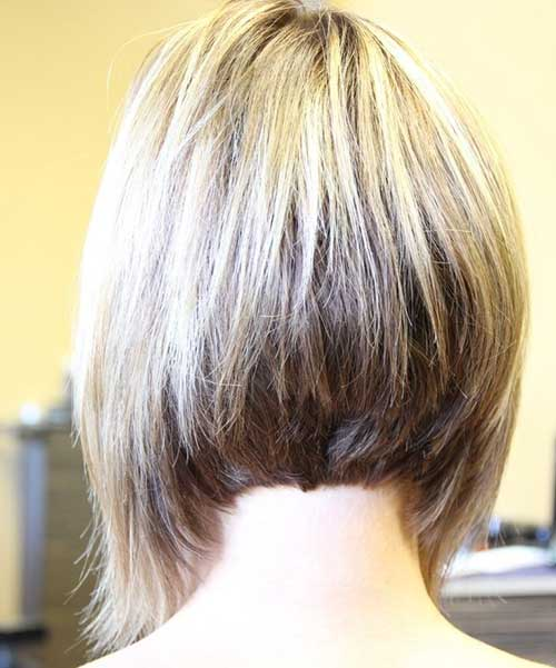 Inverted Bob Haircuts Back View
