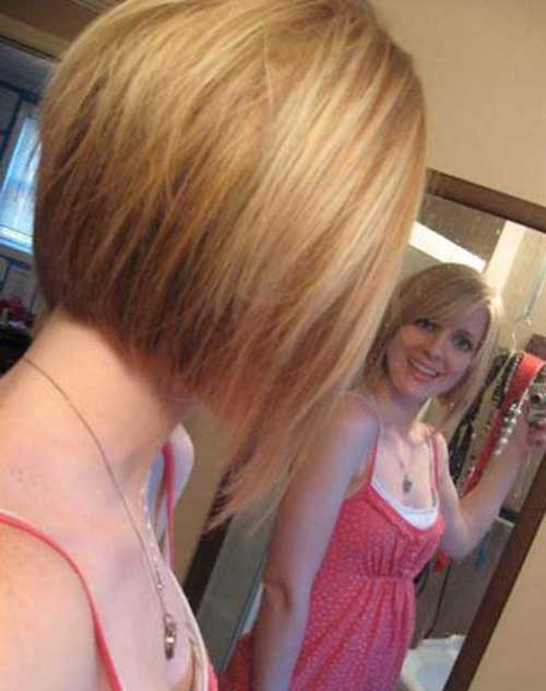Straight Bob Hairstyles Back View