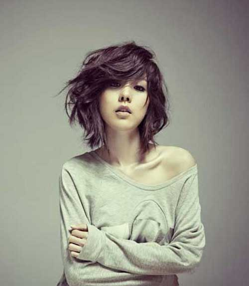Superb 10 Bob Hairstyles For Thick Wavy Hair Short Hairstyles 2016 Hairstyle Inspiration Daily Dogsangcom