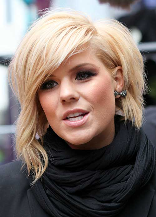 Tremendous 10 Short Bob Hairstyles With Side Swept Bangs Short Hairstyles Hairstyles For Women Draintrainus