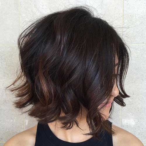 La s Beloved Brunette Bob Hairstyles Short Hairstyles 2016 2017
