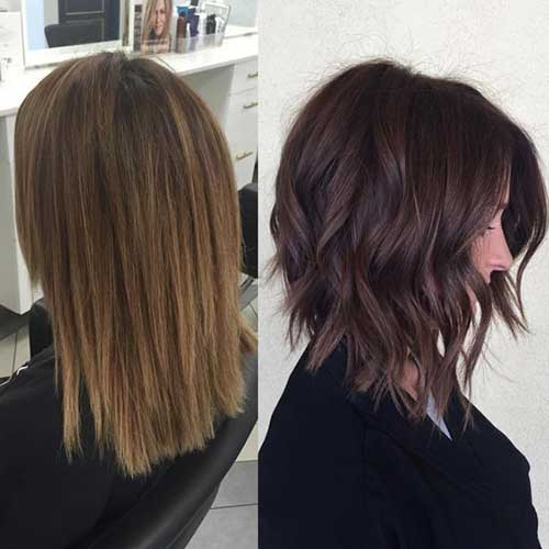 Brunette Bob Hairstyles