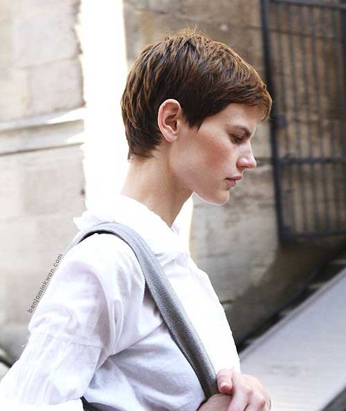 Casual Very Short Pixie Haircuts Women