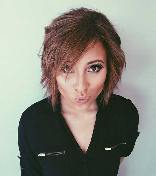 Fine 10 Short Bob Hairstyles With Side Swept Bangs Short Hairstyles Hairstyles For Women Draintrainus