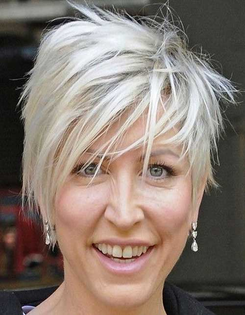 Choppy Pixie Hair Cut For Over 50