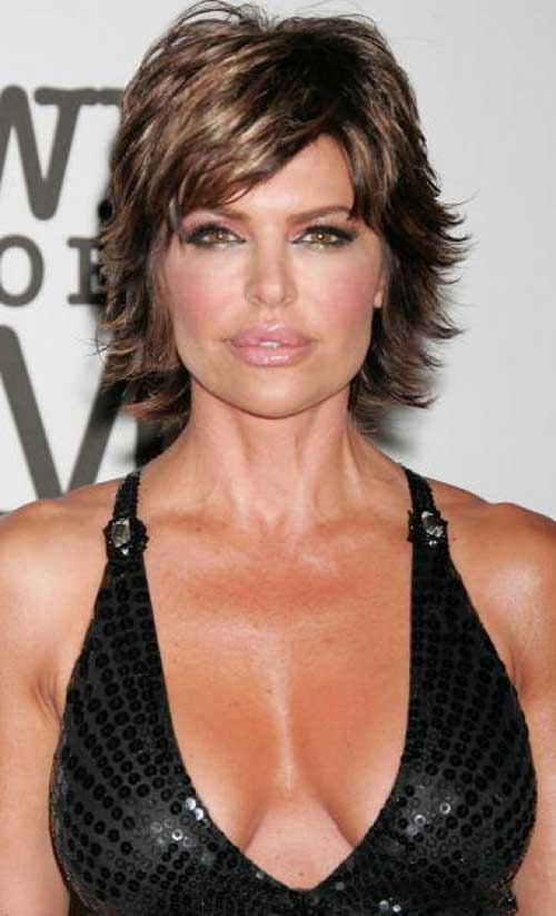 Choppy Short Layered Haircuts for Women Over 40