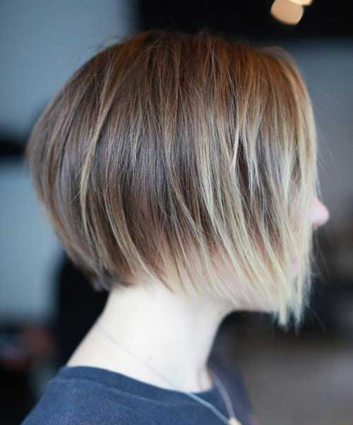 Perfect The Delicate Short Hairstyle Contours The Long Face Shape In A Flattering WayVarious Layers Help Give The Hair An Impressive Shape The Sexymeetssweet Hairstyle Creates Casual Beauty And Simplicity And Can Be Modern And Classic Short